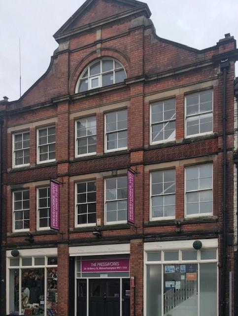 Berry Street, Wolverhampton, ,Office,For Rent,Pressworks,Berry Street,1006
